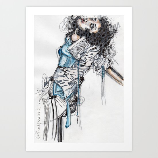 State of Undress Art Print