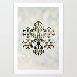 The Flower of Ice Art Print