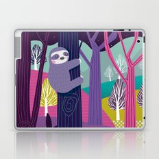 Sloth in the woods Laptop & iPad Skin