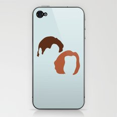Mulder and Scully, X-Files iPhone & iPod Skin