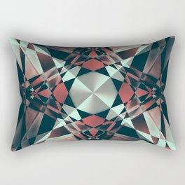 Crystal Convolution Rectangular Pillow