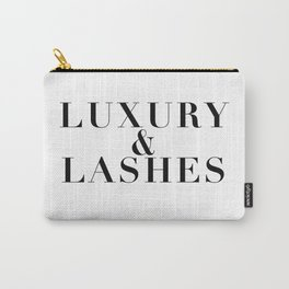 Luxury & Lashes Carry-All Pouch