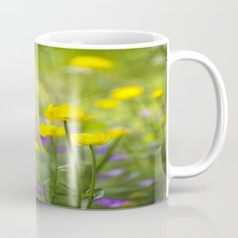 Wonderful Yellow Globeflowers #decor #society6 Coffee Mug