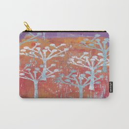 orange dot tree forest Carry-All Pouch