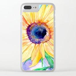 Zonnebloem Clear iPhone Case
