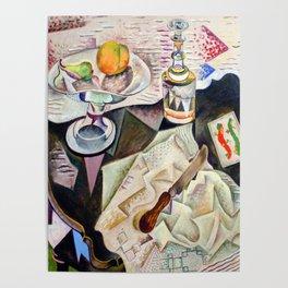 Joan Miro Spanish Playing Cards Poster