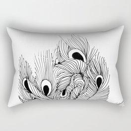 Peacock I Rectangular Pillow