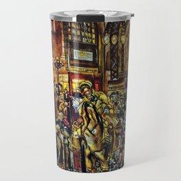 African American Masterpiece 'Harlem Renaissance' by Jacob Lawrence Travel Mug