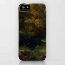 Heinrich Dreber Mountain iPhone Case