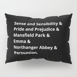 The Jane Austen's Novels II Pillow Sham