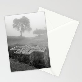 Bet Gyorgis Rock Church.  Lalibela, Ethiopia. Stationery Cards