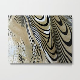 Tiger Stripe Metal Print