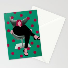 Seat girl II Stationery Cards