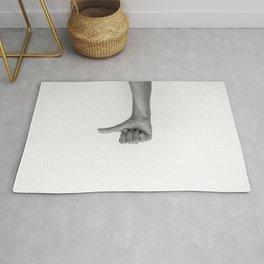 hands 2 - flop Rug