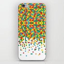 Pixel Chaos iPhone Skin