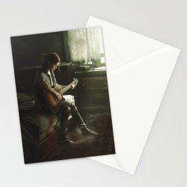 Ellie The last of us Stationery Cards