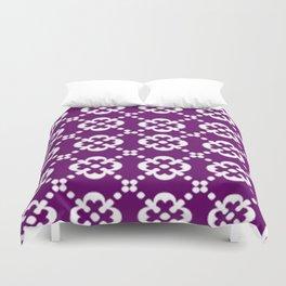 V2 Pattern me white Duvet Cover
