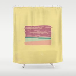 Horizons I Dunno Shower Curtain