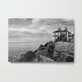Home on the Irish Coast in Howth Ireland Metal Print