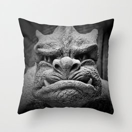 From A Dark Dream II Throw Pillow