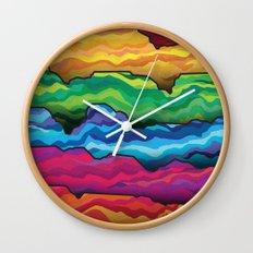 The Badlands Wall Clock