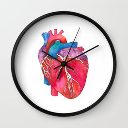 Anatomical Heart Wall Clock