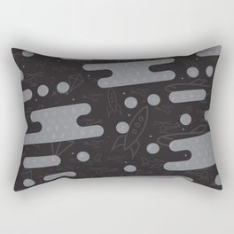 Sweet Clouds Over Flying Machines Rectangular Pillow
