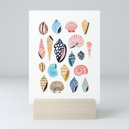 Under the Sea Shells Mini Art Print