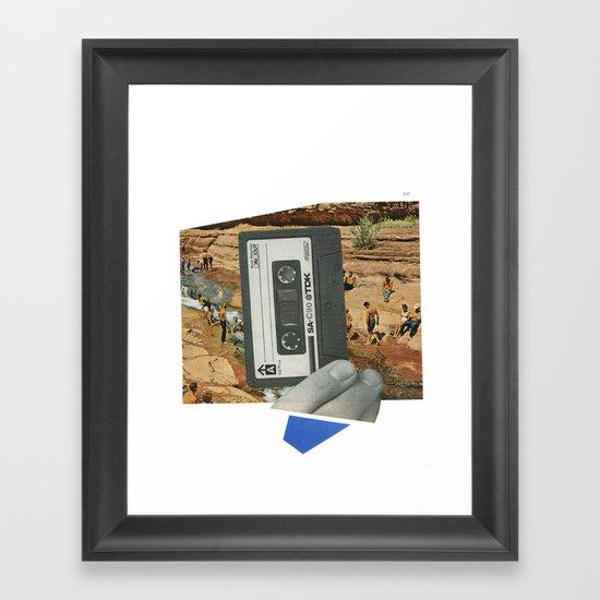 summer mix Framed Art Print