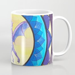 The Dragon Guide - celtic knot mandala Coffee Mug