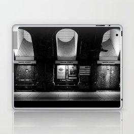 Alight here for Sherlock Holmes - Baker Street Tube Laptop & iPad Skin