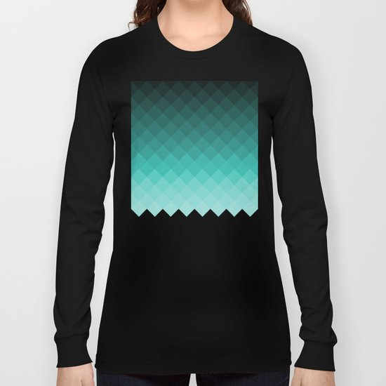 Ombre squares Long Sleeve T-shirt