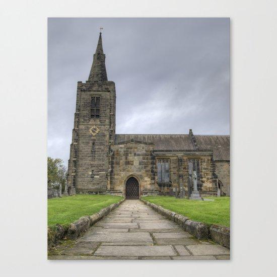 Mackworth church 2 Canvas Print