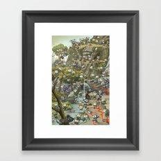 Pointy Death Framed Art Print