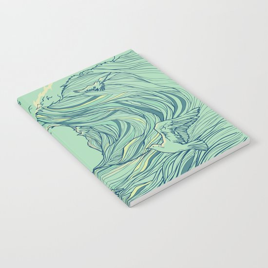 Ocean Breath Notebook