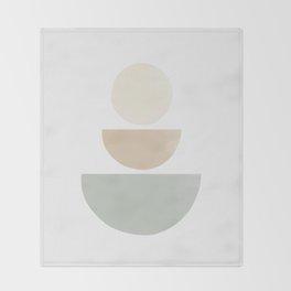 Balancing Stones #6 Throw Blanket