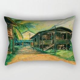 Thailande cityscape Rectangular Pillow