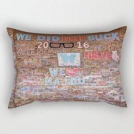 We did not suck | Noriko Aizawa Buckles Rectangular Pillow