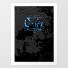 Harry Potter Curses: Crucio Art Print