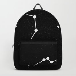 AQUARIUS (BLACK & WHITE) Backpack