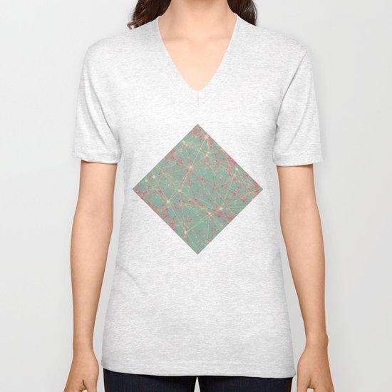 LINK abstract I Unisex V-Neck