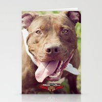 rush Stationery Cards featuring Rush by Pit Bulls for Life