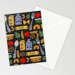 Vintage macaroni pattern Stationery Cards