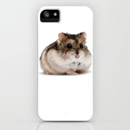Awesome Hamster Shirt - Gift For Hamster Lovers iPhone Case