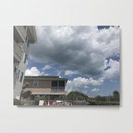 Beach Sky Metal Print
