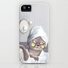 Roll My Eyes iPhone Case