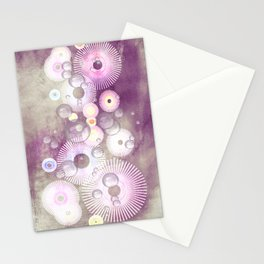 Phantasie in lila - Fantasy in purple Stationery Cards