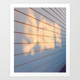 Sunset Garage, 2017 Art Print