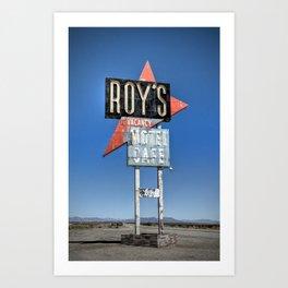 Roy's Art Print