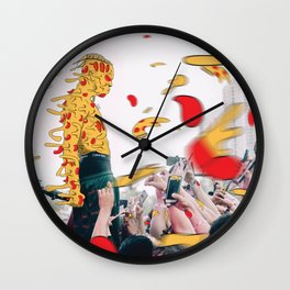 XXXpizza Wall Clock